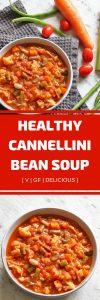 healthy cannellini bean soup