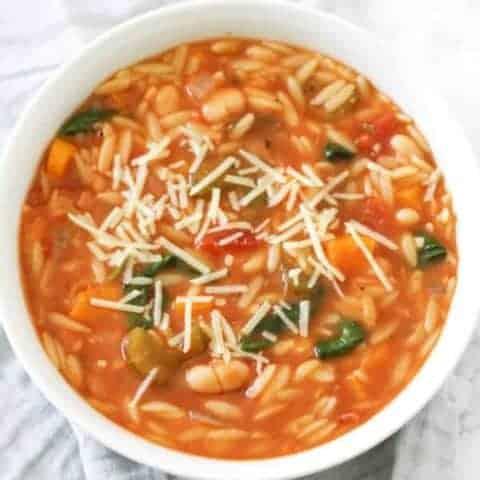 Vegetable Orzo Soup
