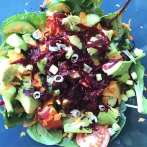 Rainbow Balsamic Salad
