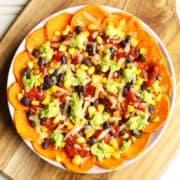 sweet potato nachos