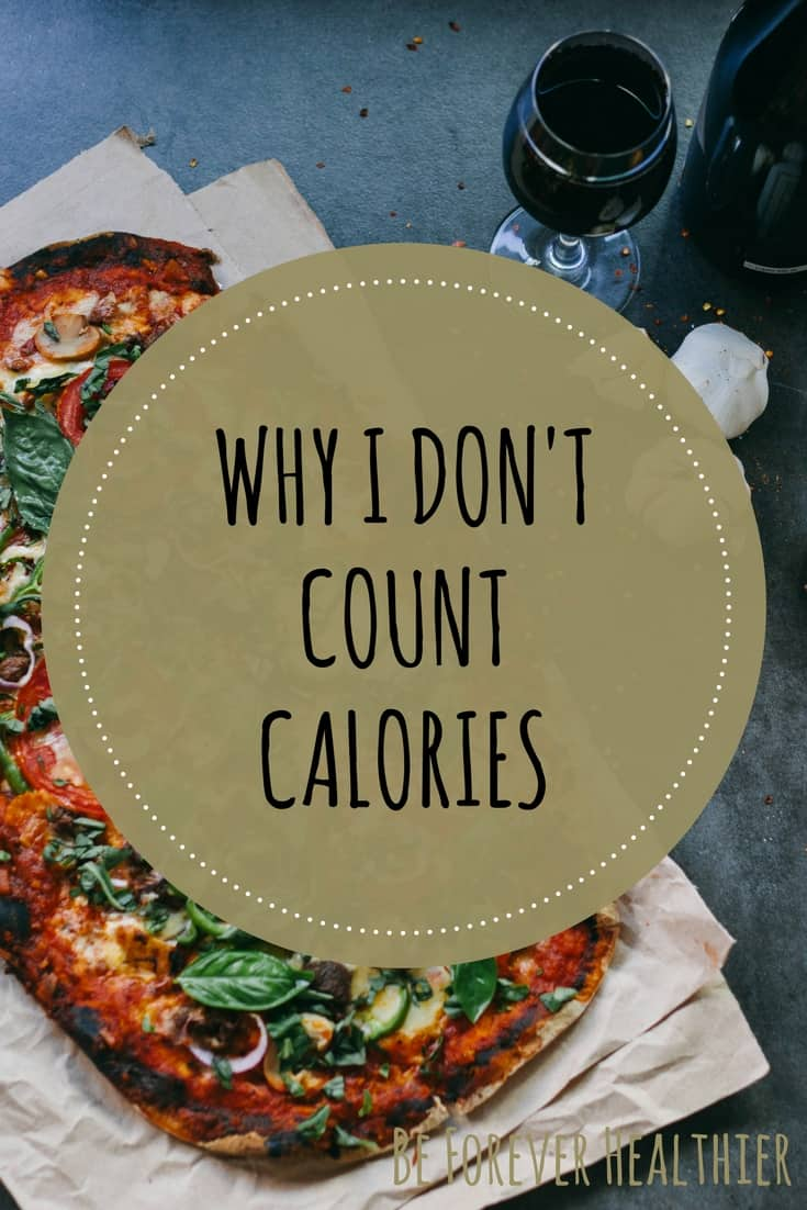 Don't count calories