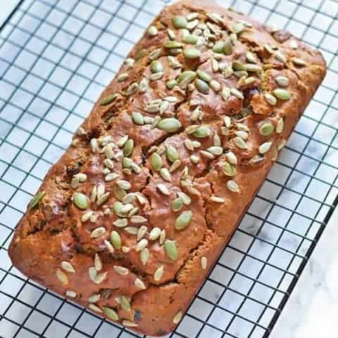 Healthy Date Loaf