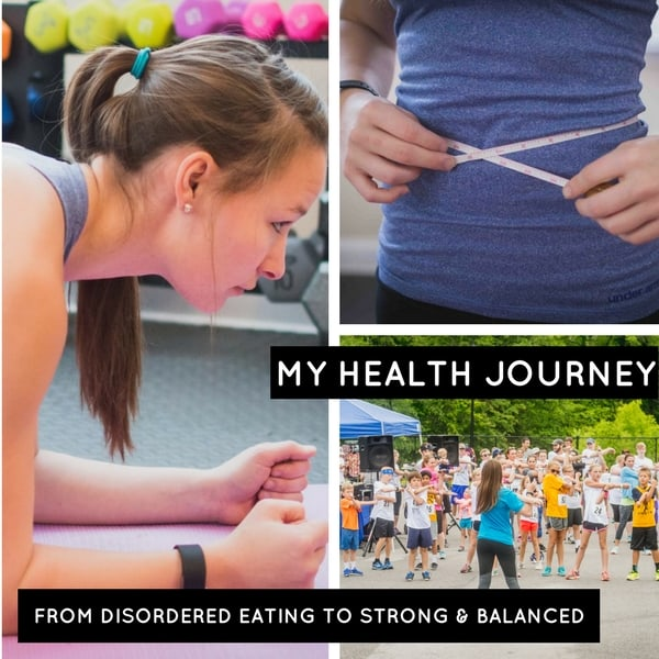 from disordered eating to strong and balanced