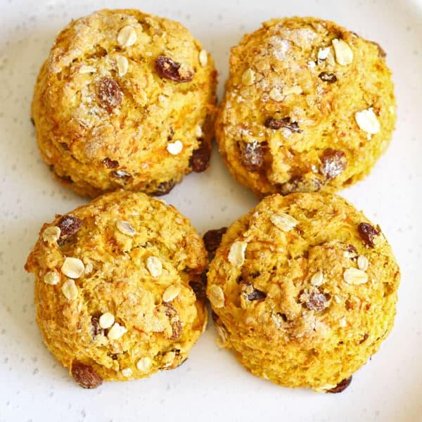 4 pumpkin scones