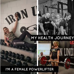 i'm a female powerlifter