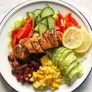 Mexican Chicken Salad Pinterest Image