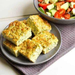 Healthy Zucchini Slice