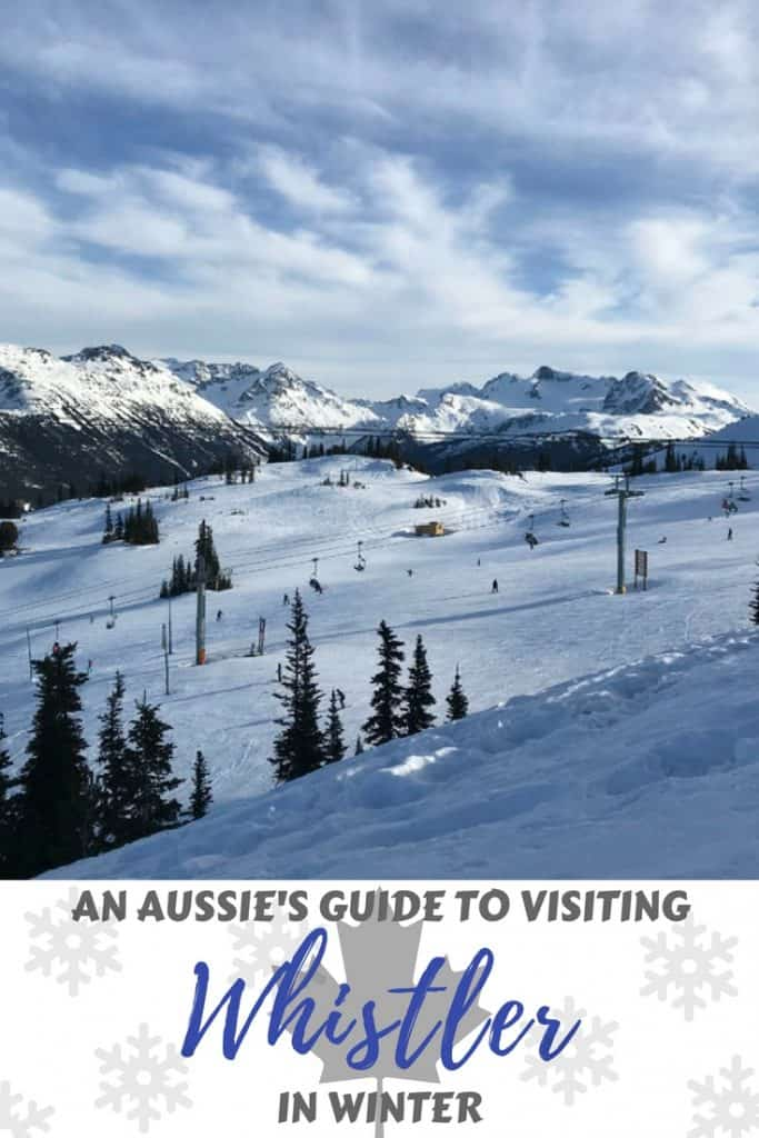 Visiting Whistler in winter
