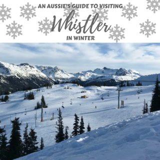 Visiting Whistler in Winter