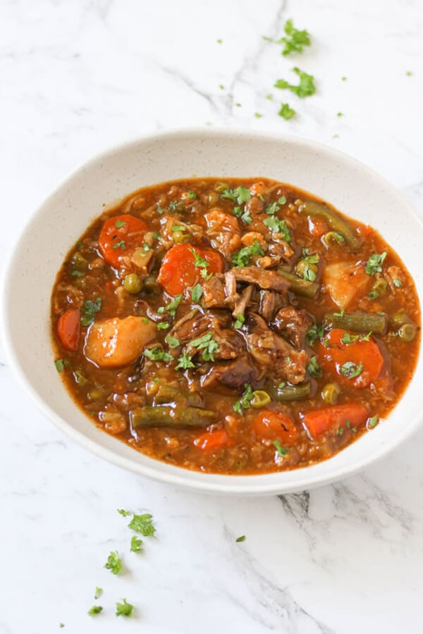 Beef and Vegetable Stew Recipe | Cook It Real Good