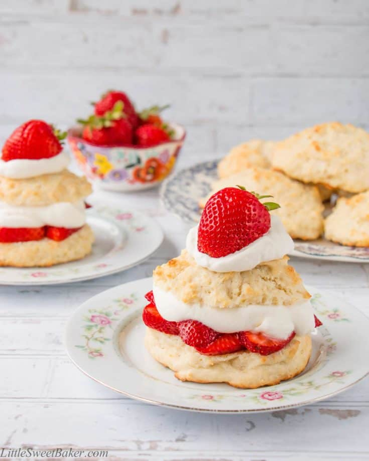Homemade Strawberry Shortcake (video)