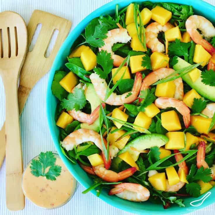 Shrimp Mango Salad Recipe