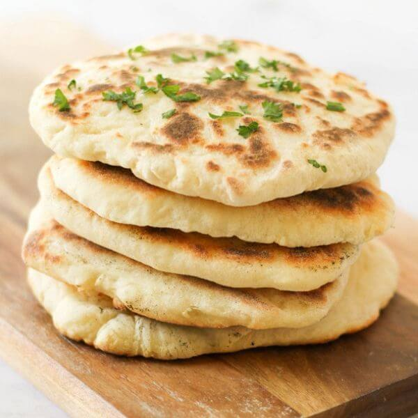 Quick and Easy Yoghurt Flatbreads