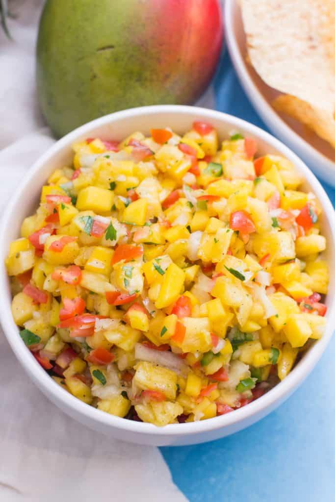 Pineapple Mango Salsa (Whole Foods Copycat)