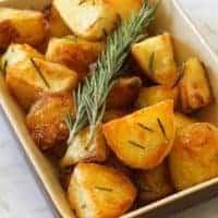 Crispy Roast Potatoes with Rosemary