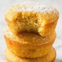 Flourless Orange and Almond Cakes