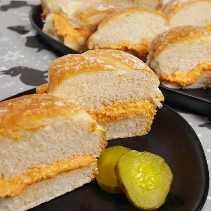 Pasta de Bocaditos {Cuban Deviled Ham Sandwiches}