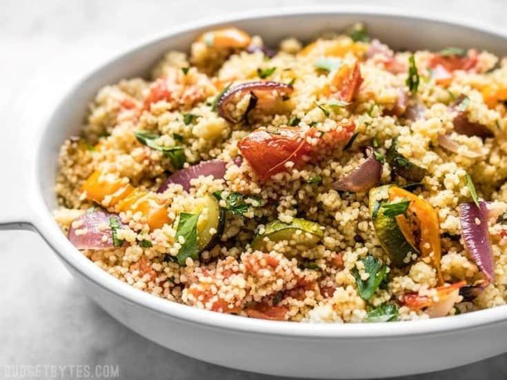 Roasted Vegetable Couscous - Vegan