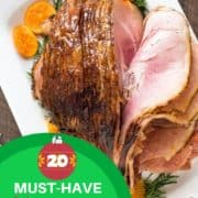 """multiple images of main dishes with text overlay """"30 delicious Christmas main dishes""""."""