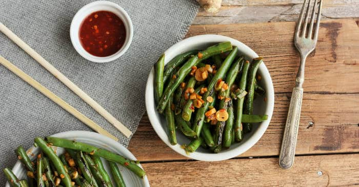 Spicy Green Beans {Whole30, Paleo, Vegan}