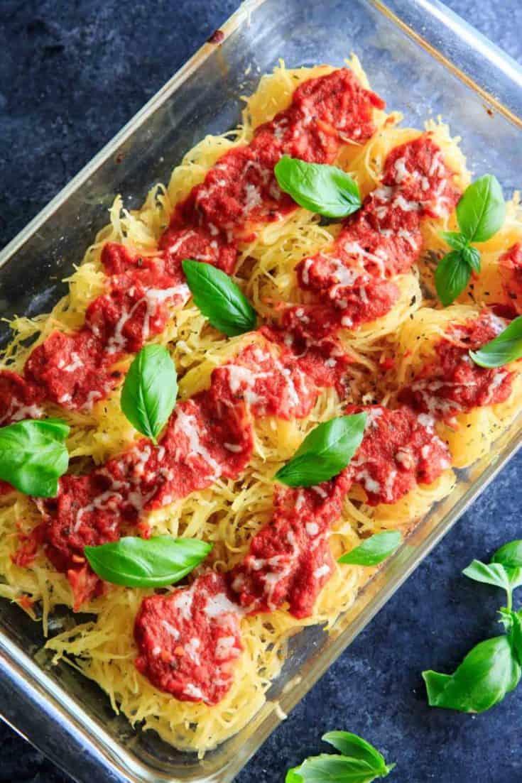 Spaghetti Squash Nests