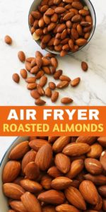 dry roasted almonds in a small bowl.