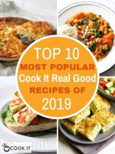 Top 10 Most Popular Recipes 2019